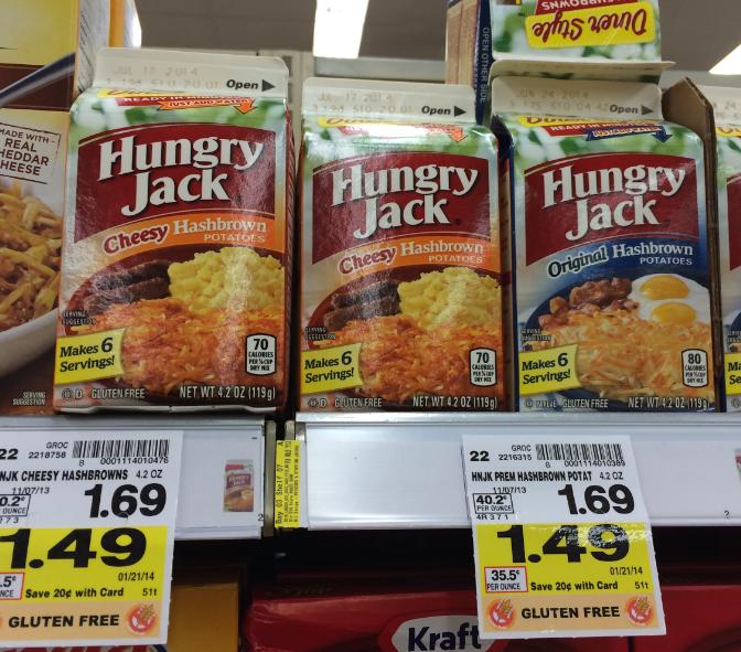 Hungry Jack Hashbrown Potatoes