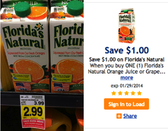 Florida's Natural Orange Juice