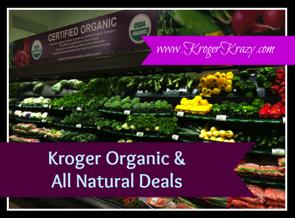 organic natural kroger deals