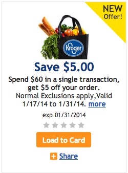 Kroger Total Purchase Coupon