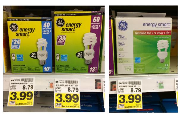 Ge energy saver light bulbs coupons
