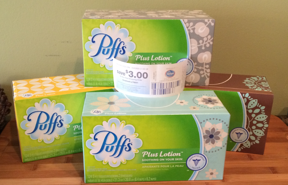 puffs tissues kroger
