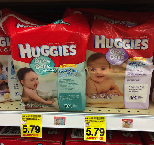 Huggies Baby Wipes Catalina