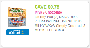 Snickers Bites Singles coupon
