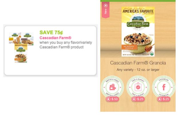 Cascadian Farms coupon