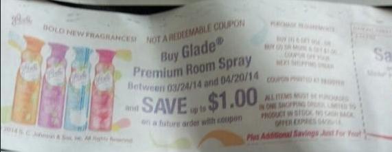 glade spray catalina
