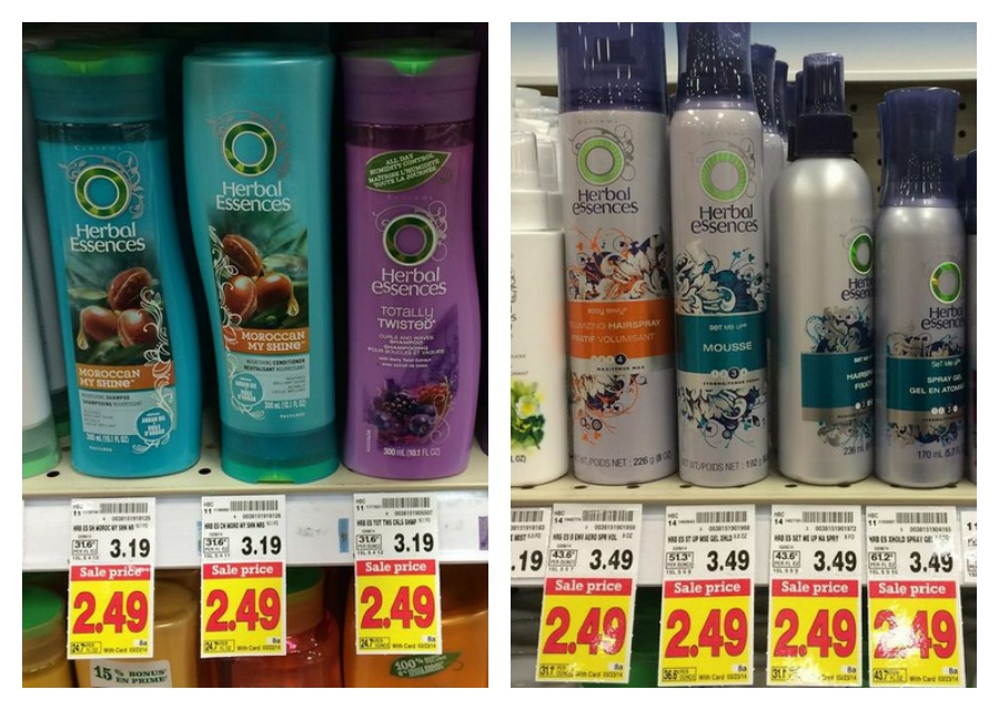 Herbal Essences kroger