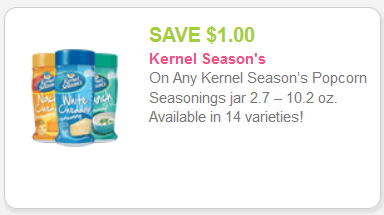 Kernel Season's coupon