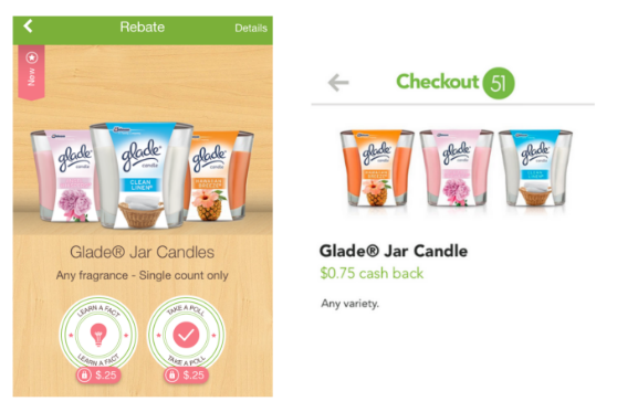 Savings for Glade Candles