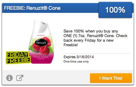 FREE Renuzit Cone