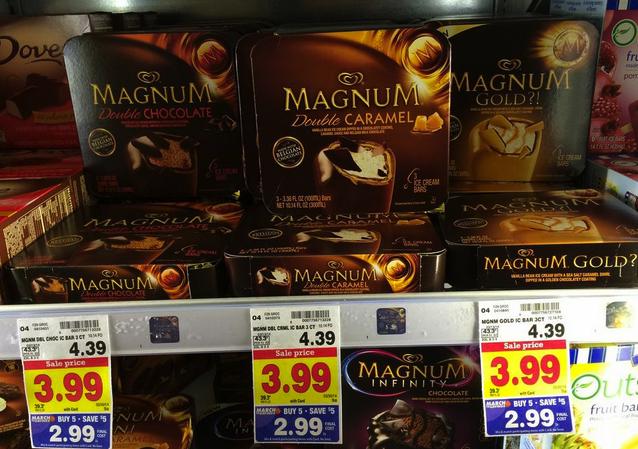 Magnum Ice Cream Bars kroger