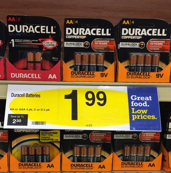 Duracell Batteries Kroger