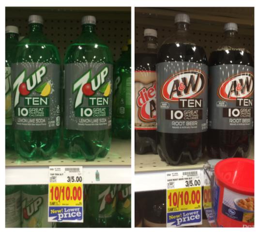 Ten Soda coupons