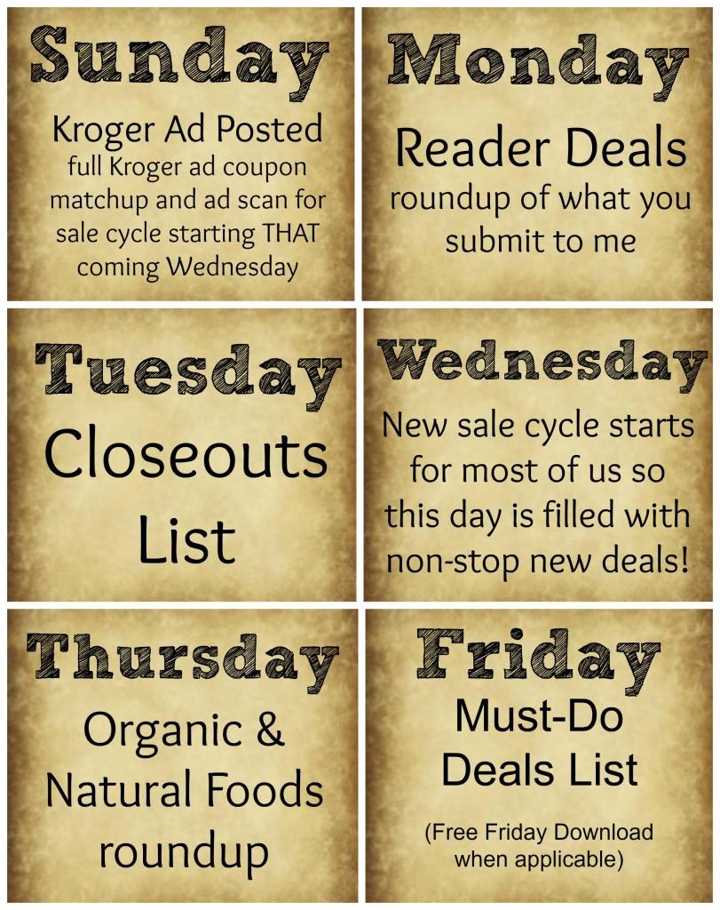 blog schedule new