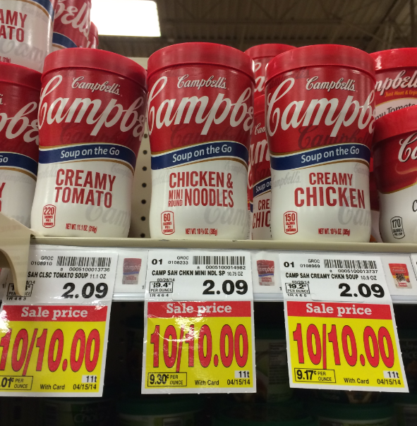 Campbells Soup on the go