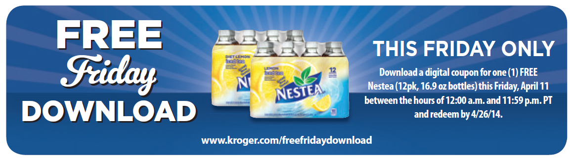 Kroger free friday download 10/5/18 | the crazy shopping cart.