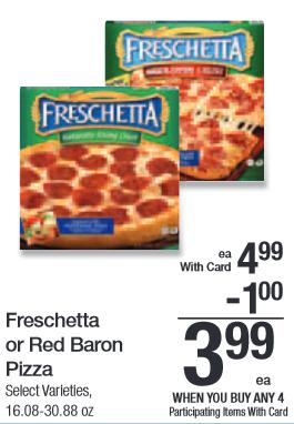 Freschetta or Red Baron