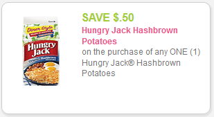 Hungry Jack Potatoes Coupon