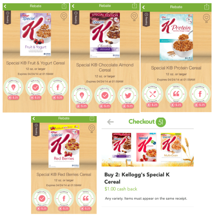Ibotta Offers - Special K