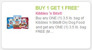 Free printable kibbles n bits coupons