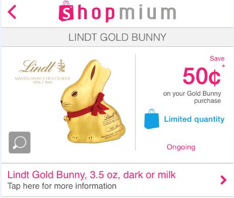 Lindt Shopmium