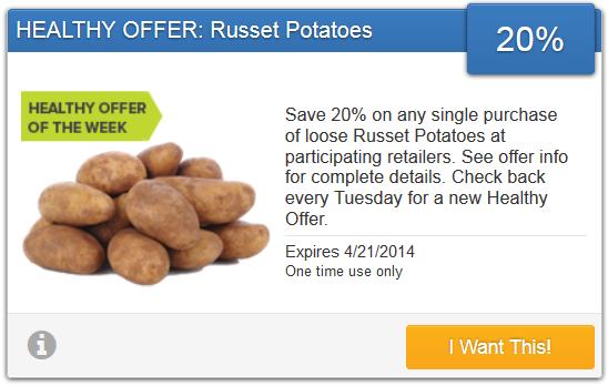 Potatoes Savingstar