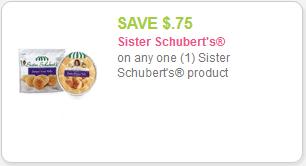 Sister Schubert's Rolls Coupons
