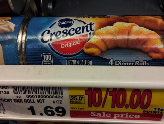 pillsbury crescent