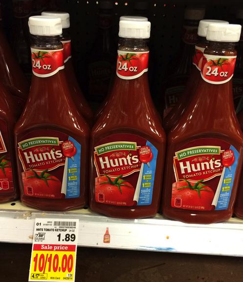 hunt's ketchup
