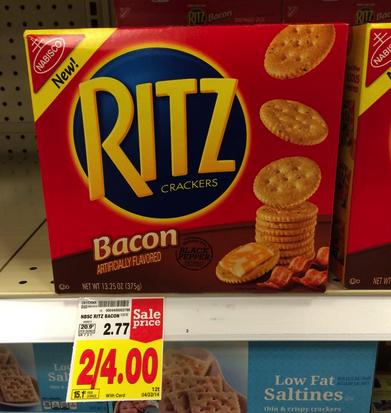 Ritz Bacon Crackers Coupon