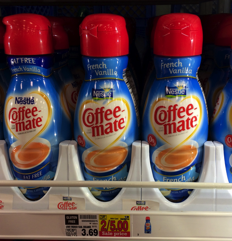 coffeemate creamer kroger