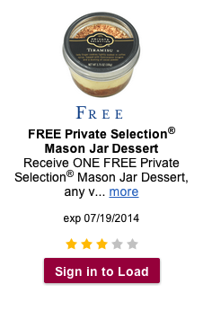 Private Selection Mason Jar Dessert