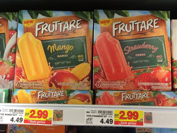 Fruttare Bars kroger