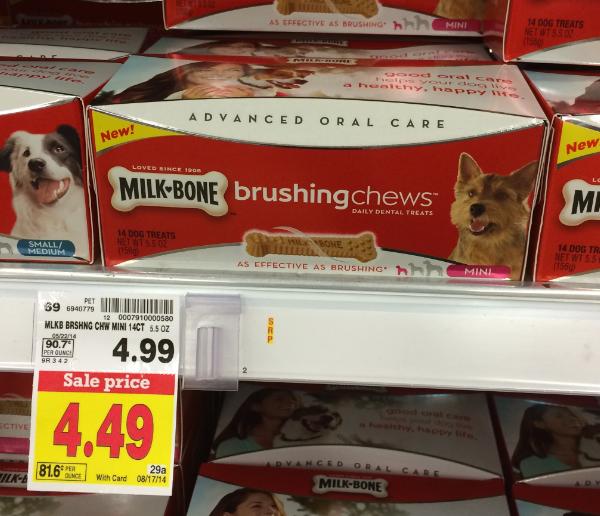 Milk-Bone Brushing Chews Coupon