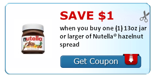Nutella SS Coupon
