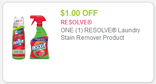 Resolve Coupon