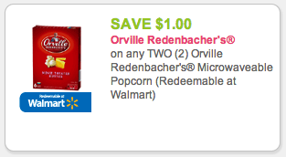 Orville Redenbacher's Popcorn Coupon