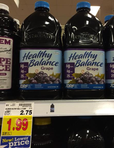 Healthy Balance Juice Coupon