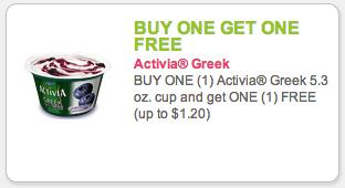 activia coupon