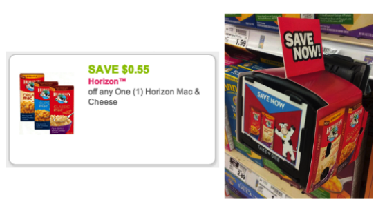 Horizon Organic Mac & Cheese Coupon