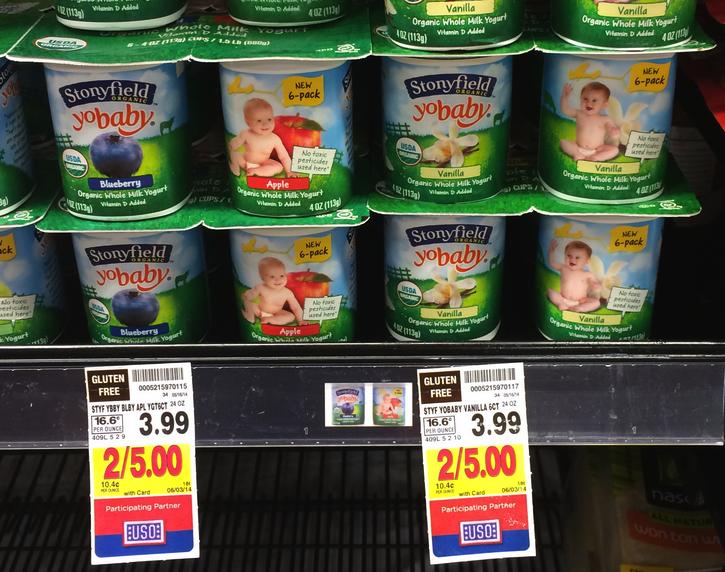 Stonyfield Organic Yogurt Kroger