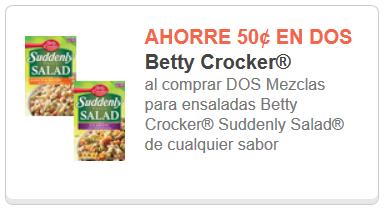 Suddenly Salad coupon