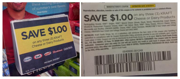 Tearpad coupons