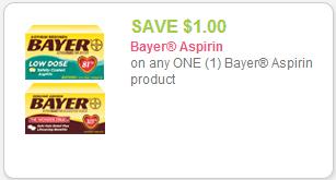Bayer coupon