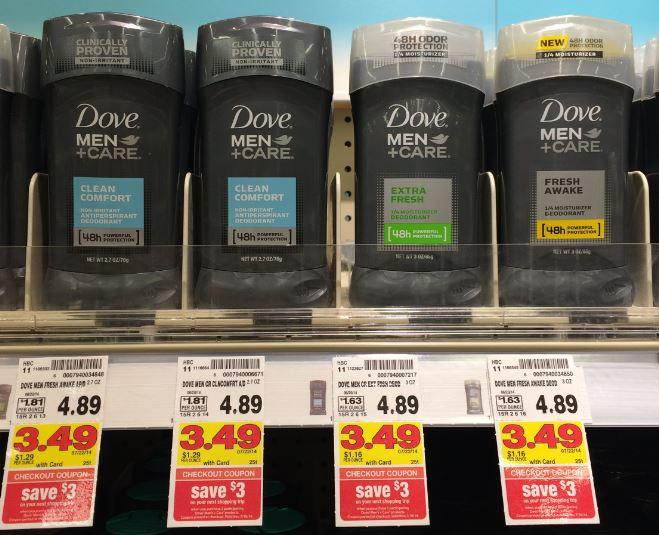 Dove Men+Care Deodorant