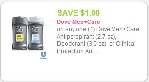 Dove coupon