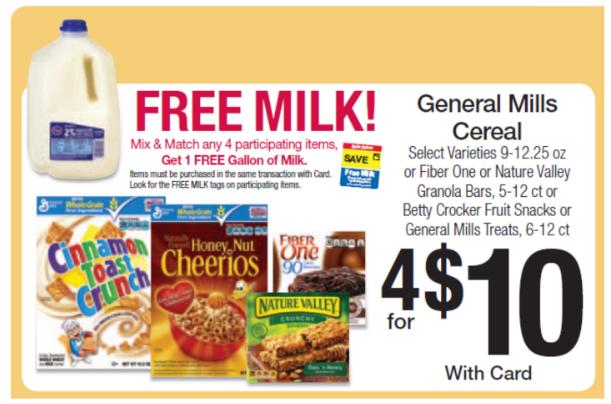 Free Milk - Kroger Ad
