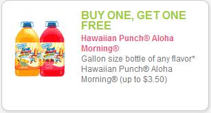 Hawaiian Punch Coupon