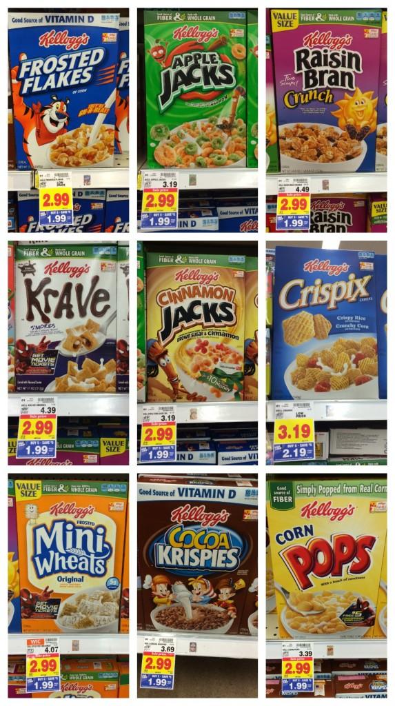 Kellogg's Cereal Mega Sale Full Inclusion List! - Kroger Krazy