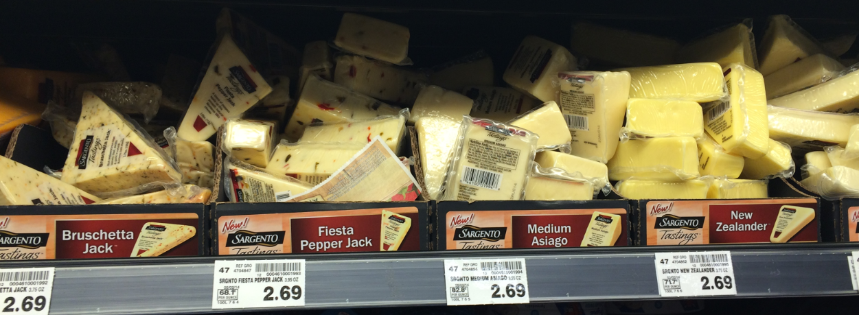 Sargento Tasting Cheese